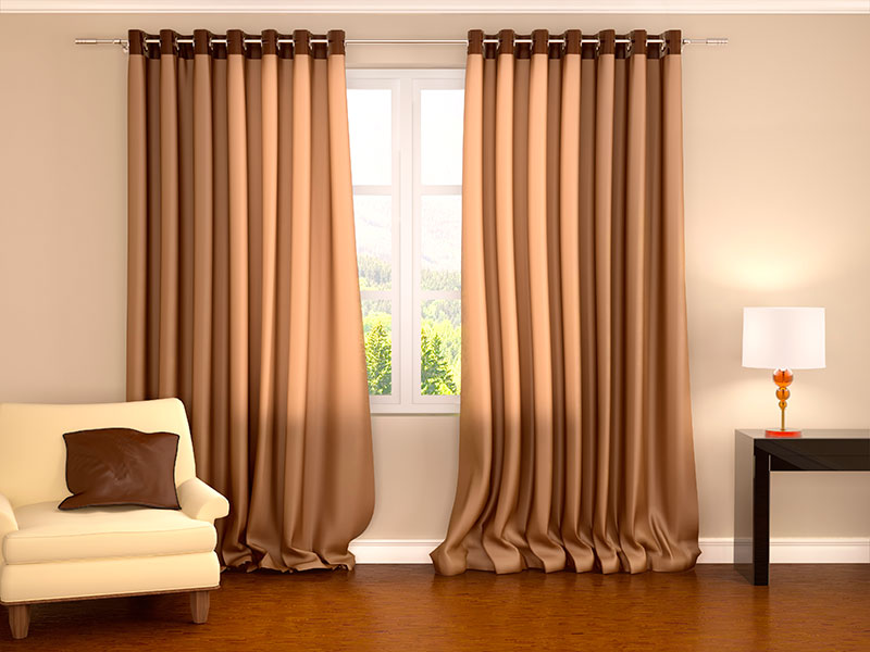Cortinas para Sala de Estar Bonitas no Tremembé - Cortina Vignette