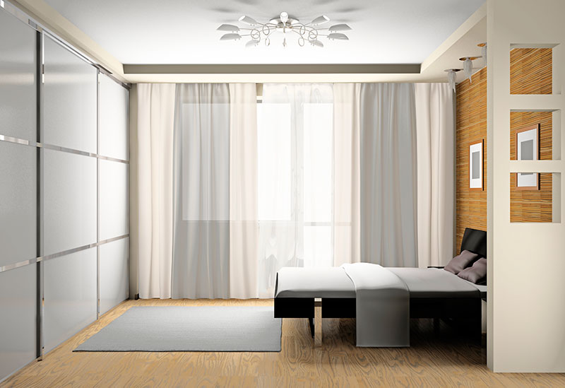 Cortinas para Sala de Estar no Brooklin - Cortina Skyline