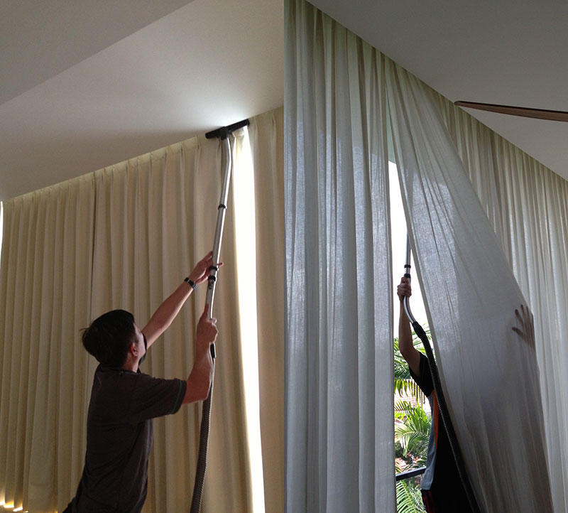 Lavagem de Cortinas e Persianas Valor no Jockey Club - Lavanderia para Cortinas